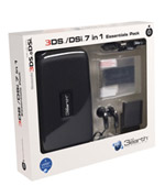 Nintendo 3DS / DSi 7 in 1 Essentials Pack - Black