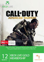 Xbox Live Call of Duty: Advanced Warfare Membership - 12 months + 1 month