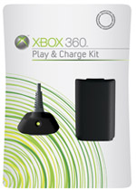 Xbox 360 Play & Charge Kit (Black)