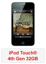 iPod Touch® 4th Gen 32GB (Refurbished by EB Games) (preowned)