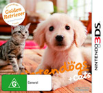 Nintendogs + Cats: Golden Retriever & New Friends (preowned)