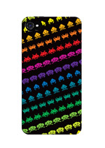 iPhone 4 Case - Space Invaders