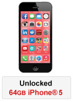 iPhone® 5 64GB Unlocked - Black (Refurbished by EB Games)