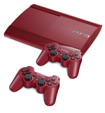New 500GB Red PlayStation 3
