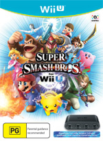 Super Smash Bros Wii U + GameCube Adaptor