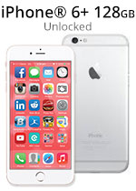 iPhone® 6 Plus 128GB - Silver (Refurbished by EB Games)