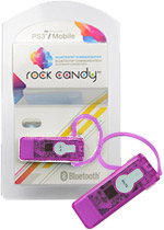 Rock Candy PS3 Bluetooth Communicator - Pink