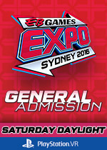 EB Expo 16 - General Admission - Saturday Daylight